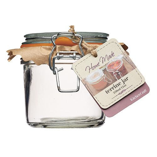 Home Made Glass 350g Terrine Jar Set Of 6