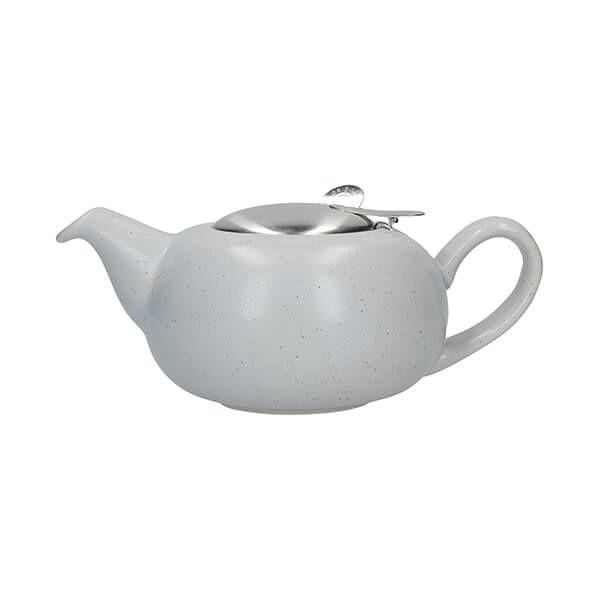 London Pottery Pebble Filter 2 Cup Teapot Light Blue