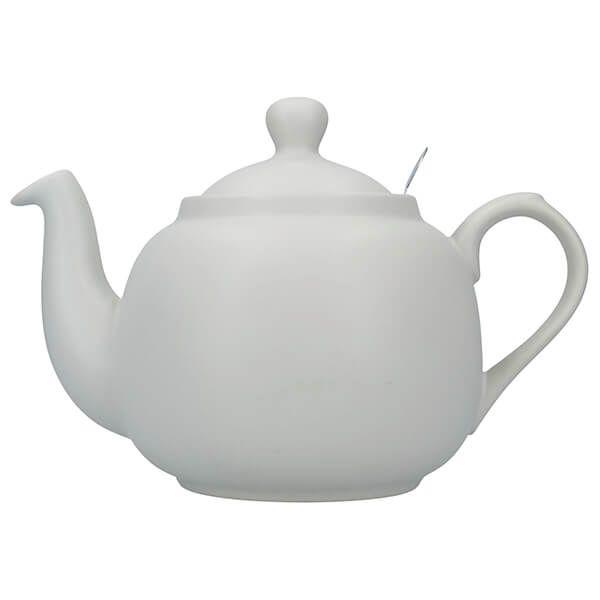 London Pottery Farmhouse Filter 6 Cup Teapot Nordic Grey