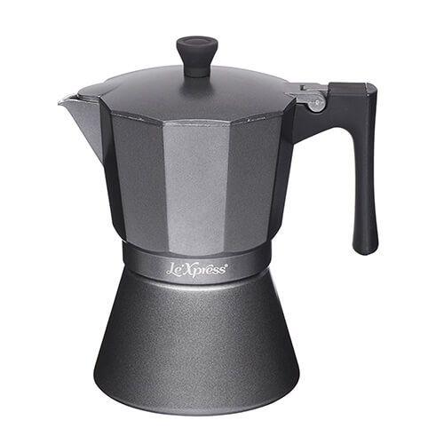 Le Xpress 6 Cup Espresso Coffee Maker Grey