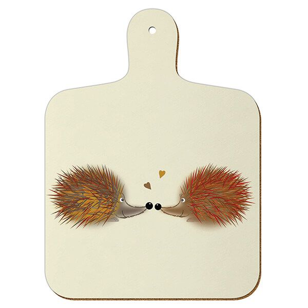 Melamaster Mini Chopping Board Hedgehog