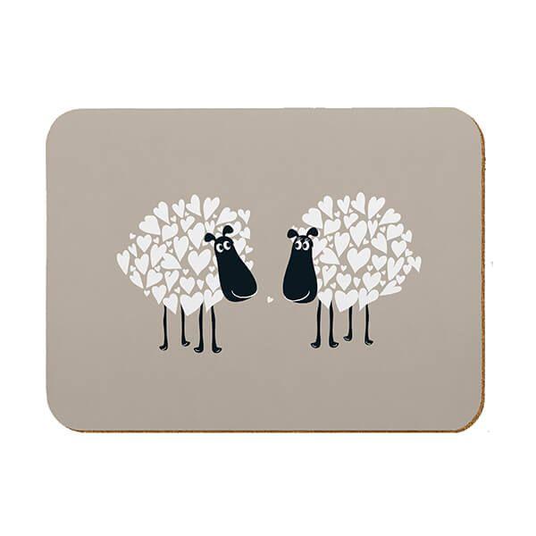 Melamaster Kitchen Board Sheep