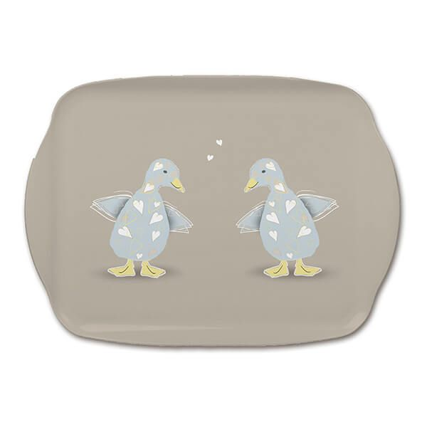 Melamaster Medium Tray Duck