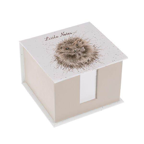 Wrendale Designs Hedgehog Little Notes Memo Block
