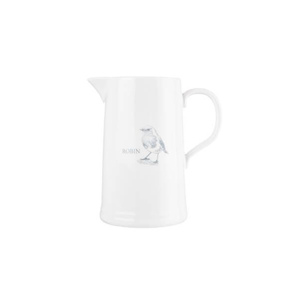 Mary Berry English Garden Small Jug Robin