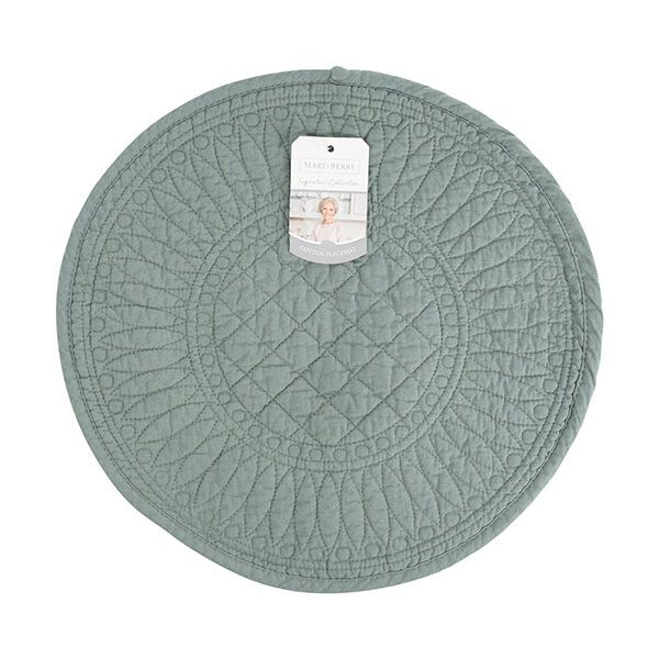 Mary Berry Signature Cotton Placemat Sea Green
