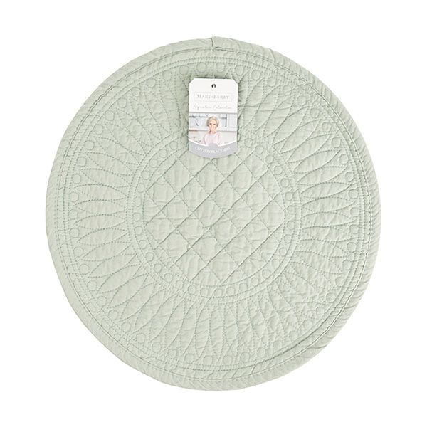 Mary Berry Signature Cotton Placemat Pistachio
