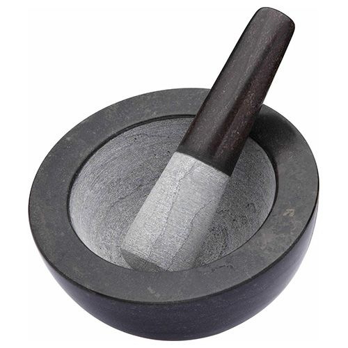 Master Class Quarry Marble Mortar and Pestle