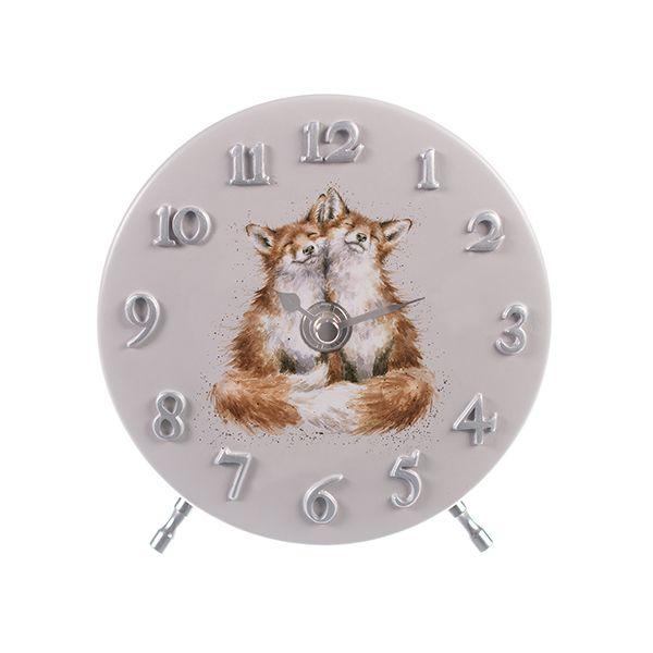 Wrendale Designs Fox Mantel Clock