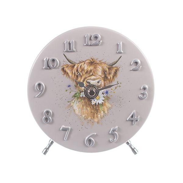 Wrendale Designs Cow Mantel Clock