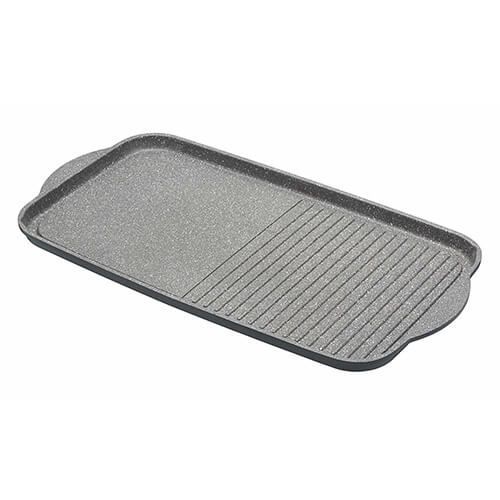 Master Class Induction Aluminium 46 x 26cm Griddle Tray Marble Coating