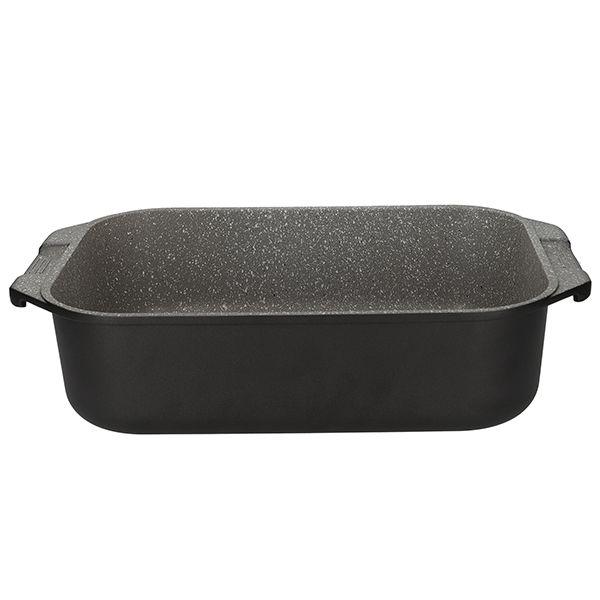 MasterClass Black Cast Aluminium 34cm Roasting Pan
