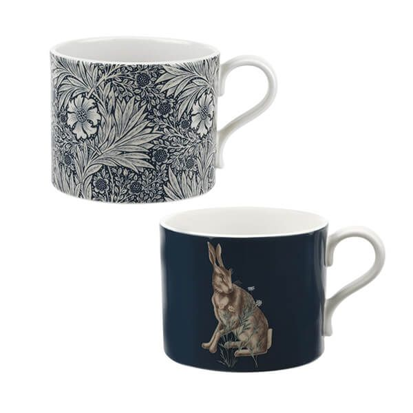 Morris & Co Marigold & Hare Mugs Set of 2