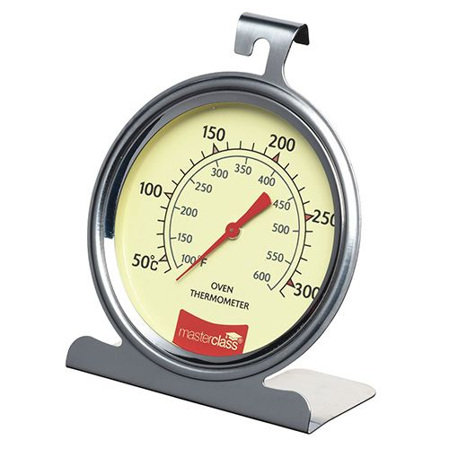 Master Class Deluxe Large Stainless Steel Oven Thermometer 10cm