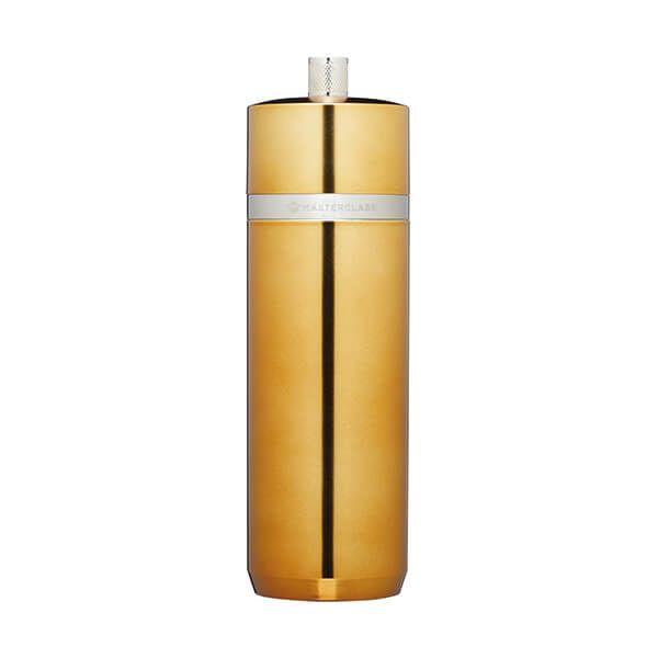 MasterClass Brass Finish Salt or Pepper Mill 17cm