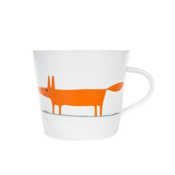Scion Living Mr Fox Ceramic & Orange 350ml Mug