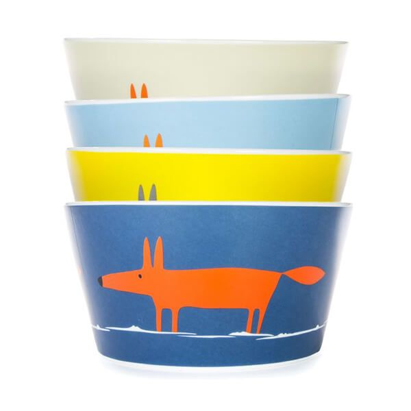 Scion Living Mr Fox Set of 4 Bowls