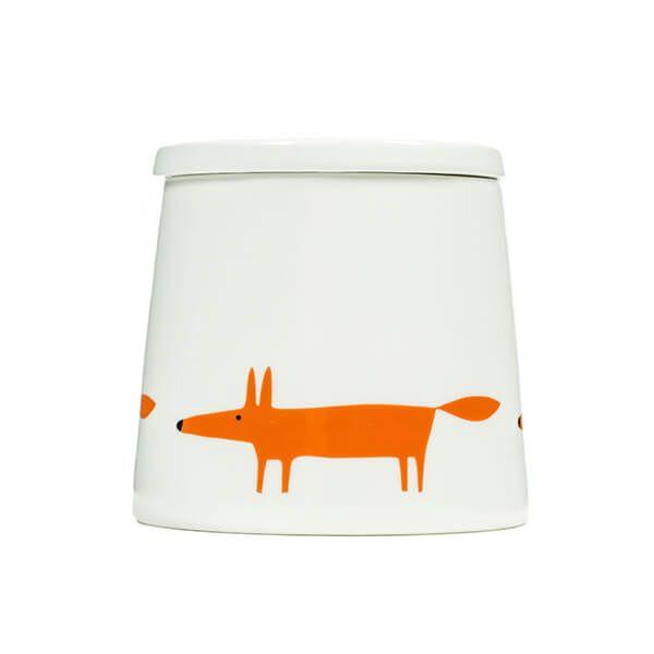 Scion Living Mr Fox Ceramic & Orange Large Storage Jar