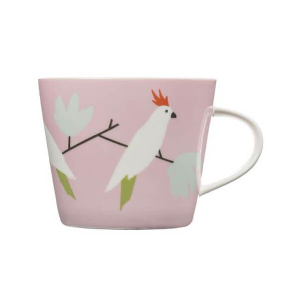 Scion Living Love Birds Peony 350ml Mug