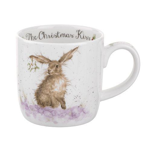 Wrendale Designs Fine Bone China Mug The Christmas Kiss 6 for 5