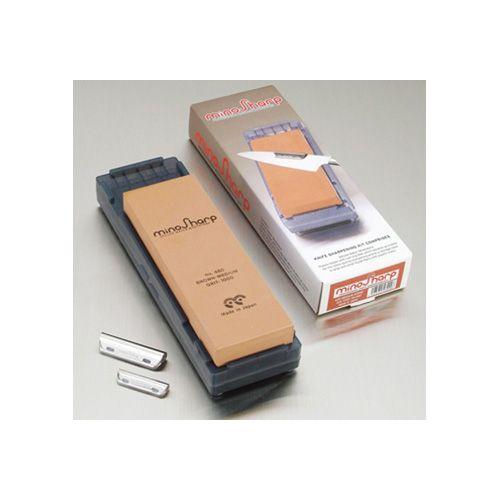MinoSharp Sharpening Kit With Medium Stone