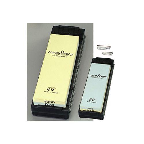 MinoSharp Sharpening Kit With Combination Stone  Medium / Super Fine
