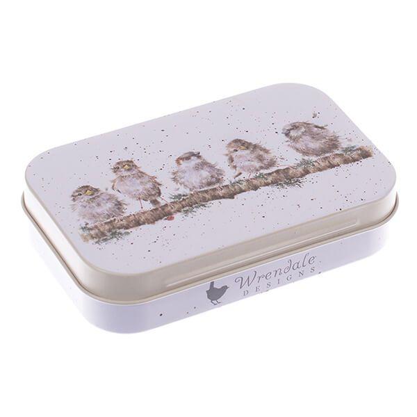 Wrendale Designs Sparrow Mini Tin