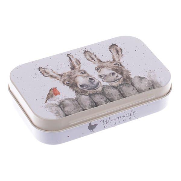 Wrendale Designs Donkey Mini Tin