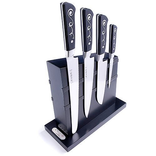 I.O.Shen Magnetic Knife Block Set
