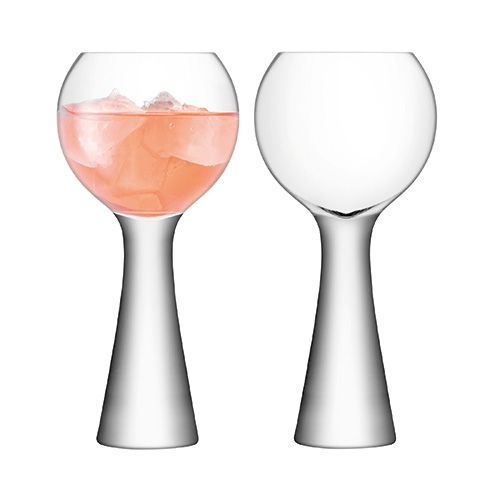LSA Moya Wine Balloon 550ml Clear Set Of 2