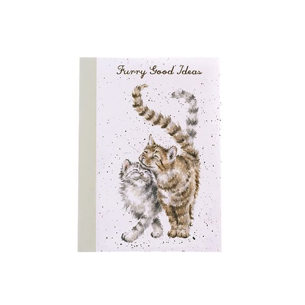Wrendale Designs A6 Cats Notebook