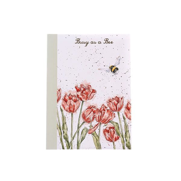 Wrendale Designs A6 Bee Notebook