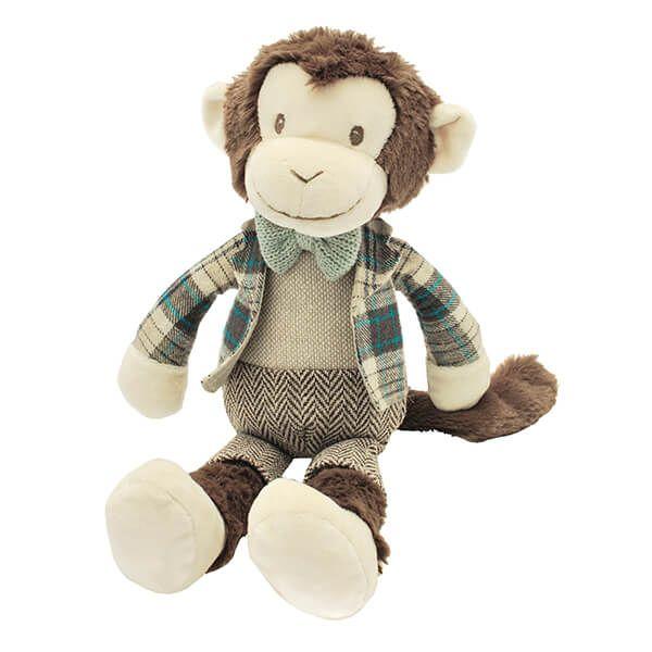 Walton & Co Dressed Monkey Stu Toy