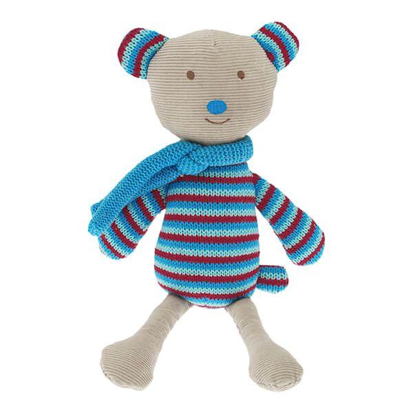 Walton & Co Knitted Reversible Bear Toy