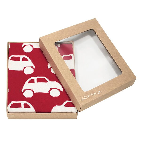 Walton & Co Cars Baby Blanket