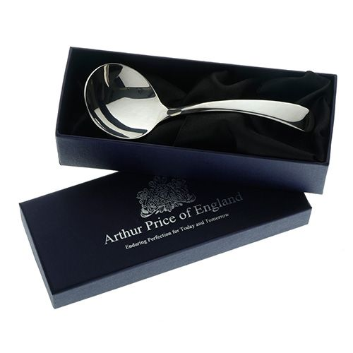 Arthur Price of England Sovereign Silver Cream Ladle Old English