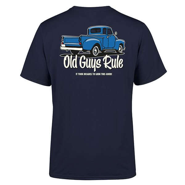 Old Guys Rule Navy It Took Decades T-Shirt