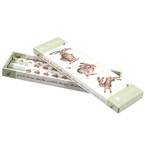 Wrendale Hare Pencil Box