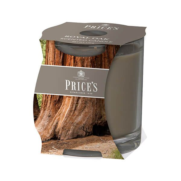 Prices Fragrance Collection Royal Oak Cluster Jar Candle