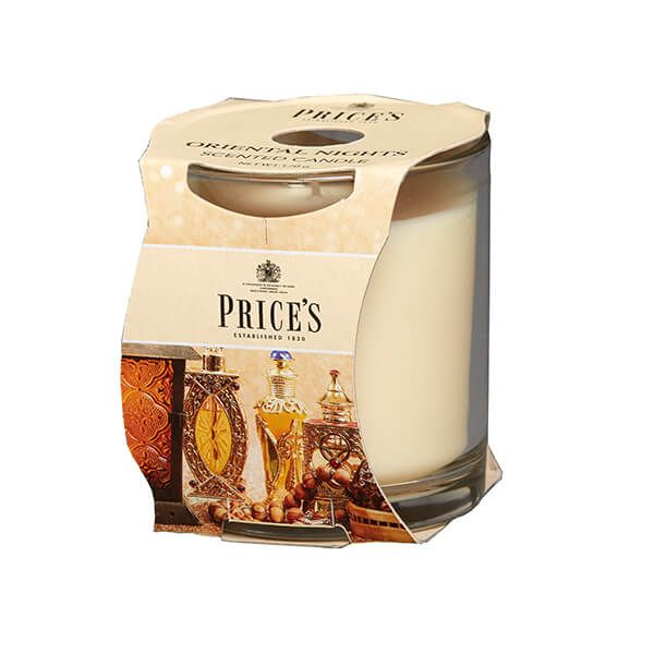 Prices Fragrance Collection Oriental Nights Cluster Jar Candle