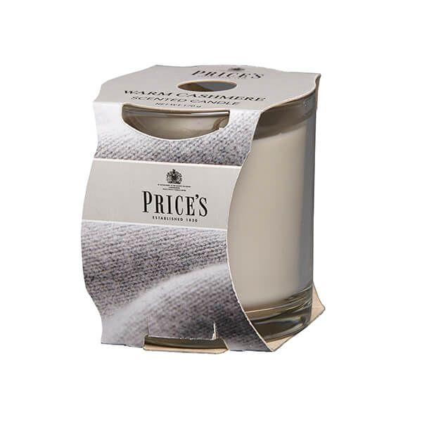 Prices Fragrance Collection Warm Cashmere Cluster Jar Candle