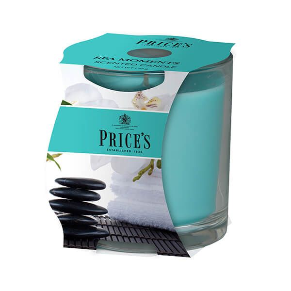 Prices Fragrance Collection Spa Moments Cluster Jar Candle