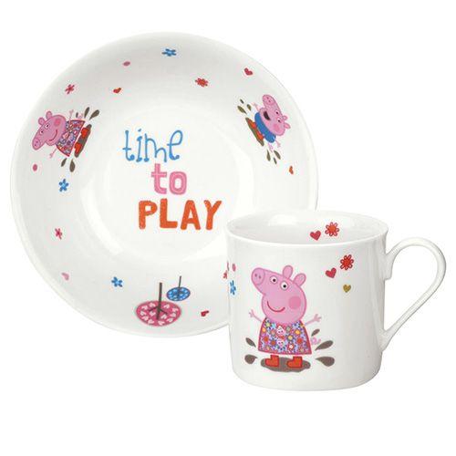 Peppa Pig Mug & Bowl 2 Piece Gift Set