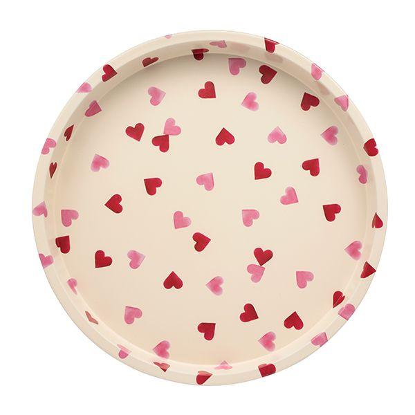Emma Bridgewater Pink Hearts Deep Well Tray