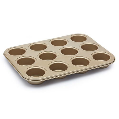 Paul Hollywood Non-Stick 12 Hole Deep Baking Pan 35 x 27cm