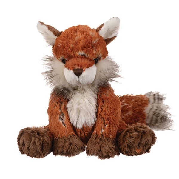 Wrendale Designs Fox Plush Cuddly Toy with Canvas Gift Bag