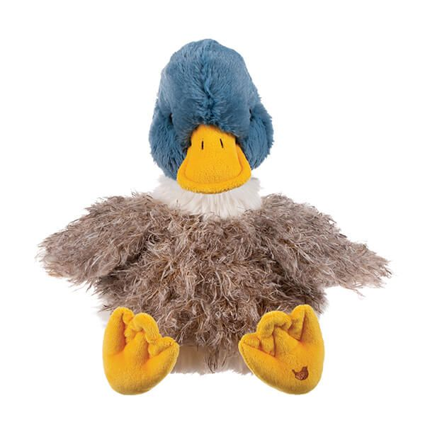 Wrendale Designs Duck Plush Cuddly Toy with Canvas Gift Bag