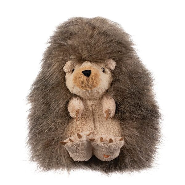 Wrendale Designs Hedgehog Plush Cuddly Toy with Canvas Gift Bag