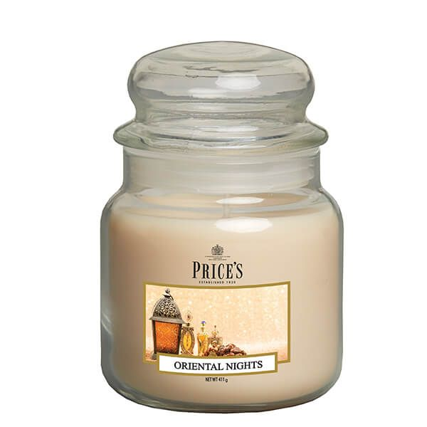 Prices Fragrance Collection Oriental Nights Medium Jar Candle