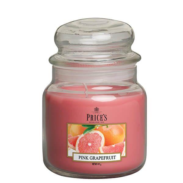 Prices Fragrance Collection Pink Grapefruit Medium Jar Candle